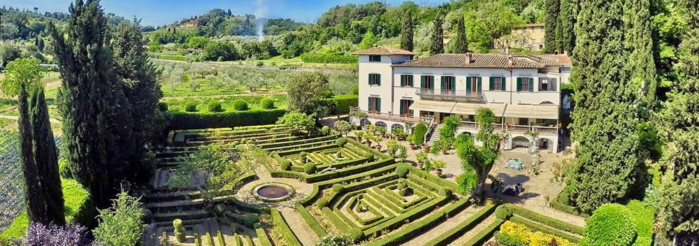 Villa il Merlo Nero Firenze